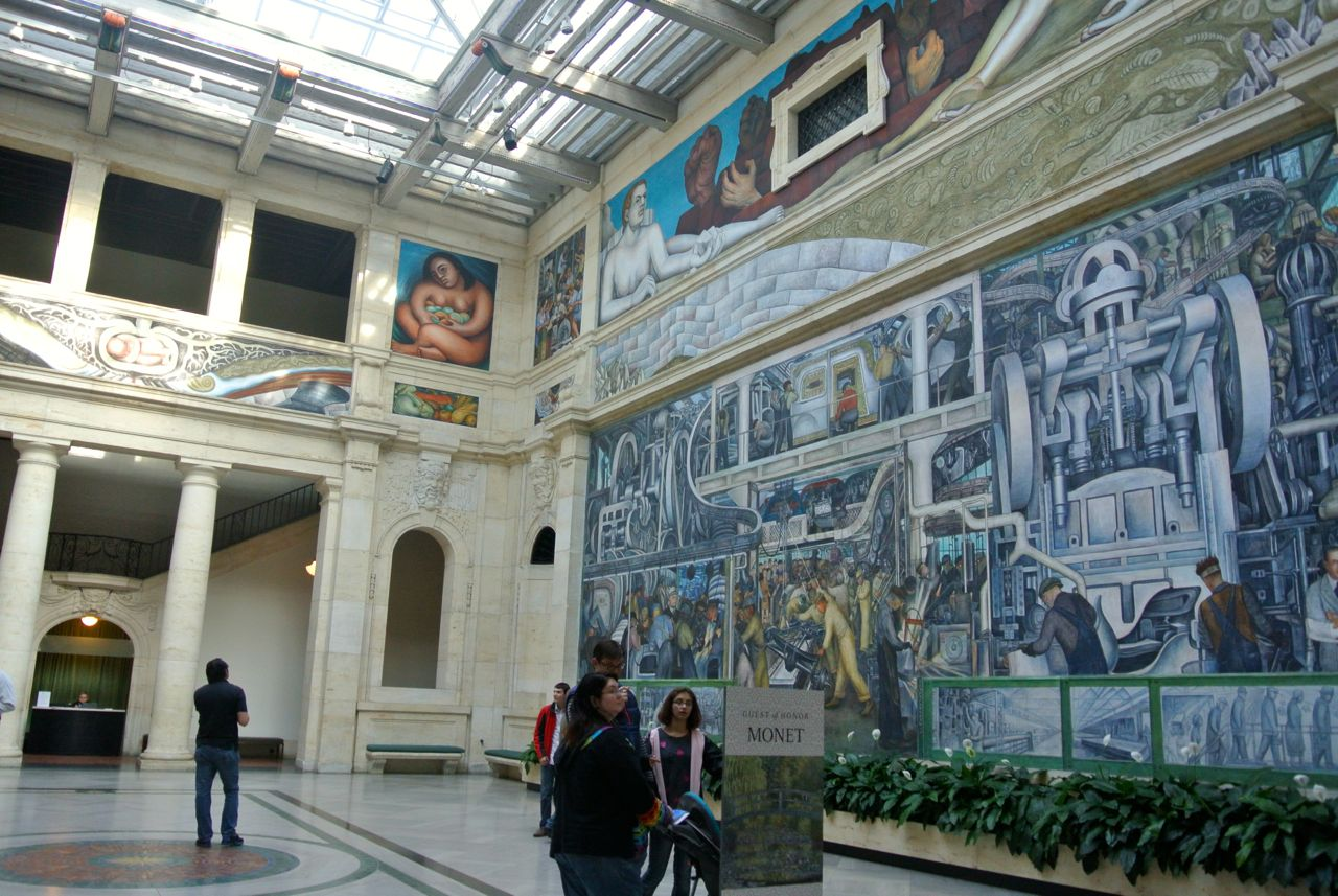 """DIA's Diego Rivera mural: Some wanted to paint it over because of Rivera's """"communist"""" themes"""
