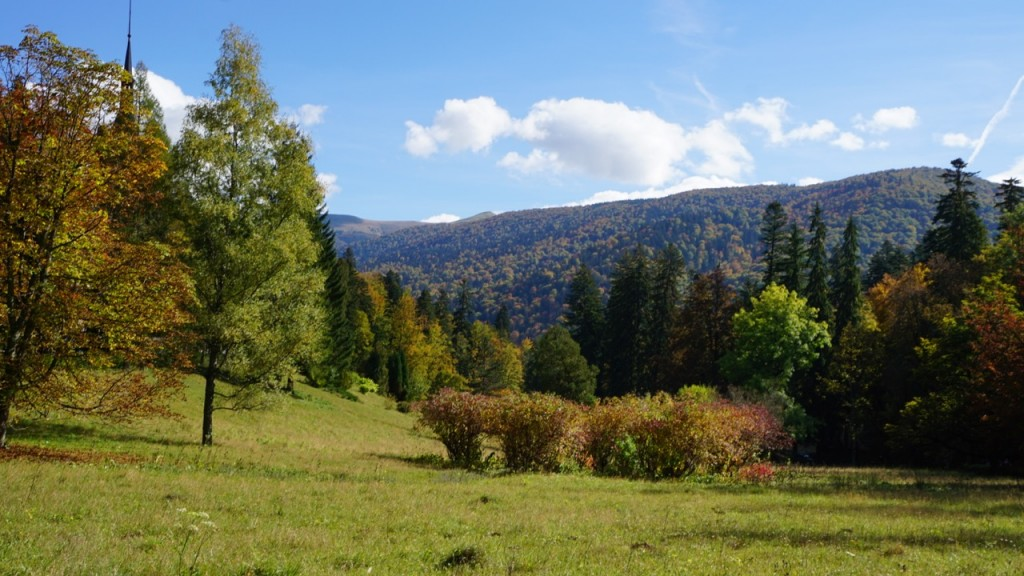 Transylvania landscape, beauty in contrast to its tortured history