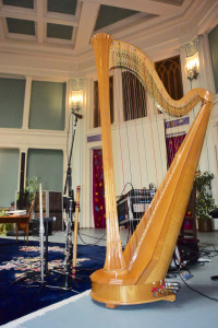 Our instruments inside the Althea Center for Spiritual Engagement