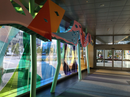 Hallway of the Children's Hospital