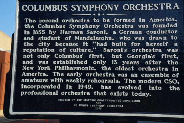 I just learned: My hometown was home to the second symphony established in the US, after the New York Philharmonic