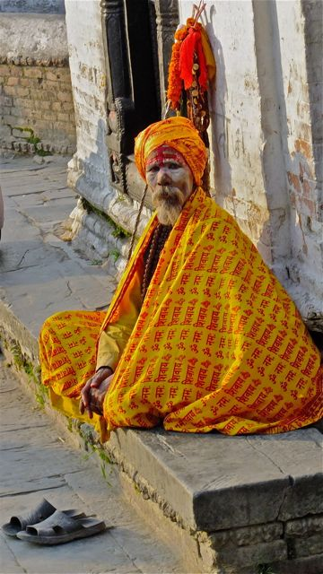 One more Saddhu (of many at this temple)
