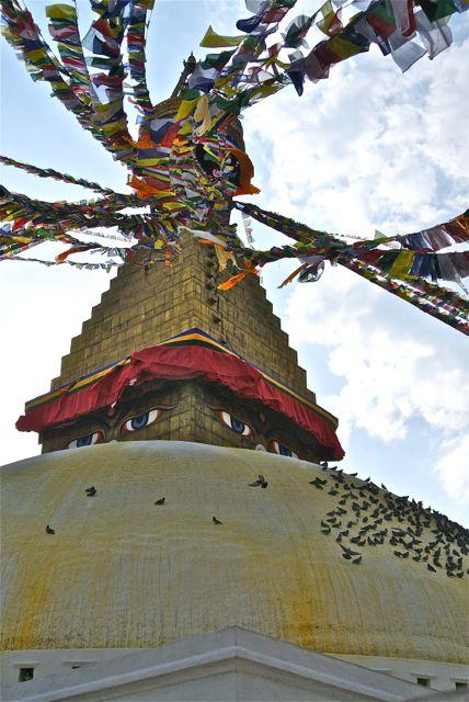 Bouda Stupa Crown