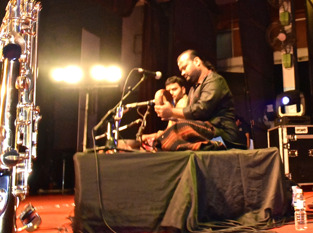 Mynta in concert with special guests Selvaganesh (father) and Swaminathan (son)
