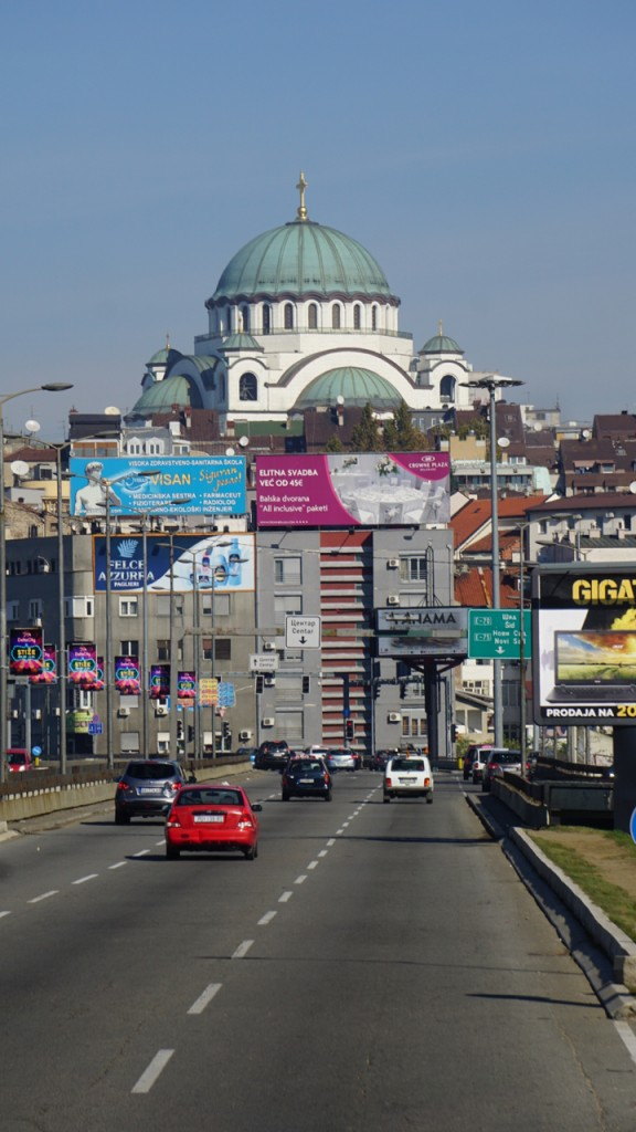 Belgrade's Greek Orthodox Cathedral is the largest orthodox dome in the world
