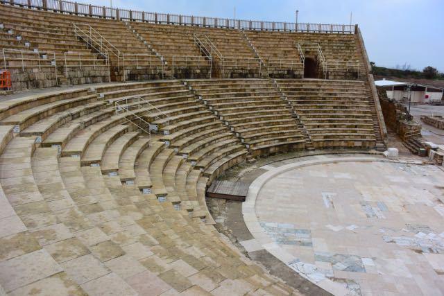 Caesaria's Roman Amphitheater