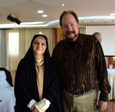 With the second Iranian nurse