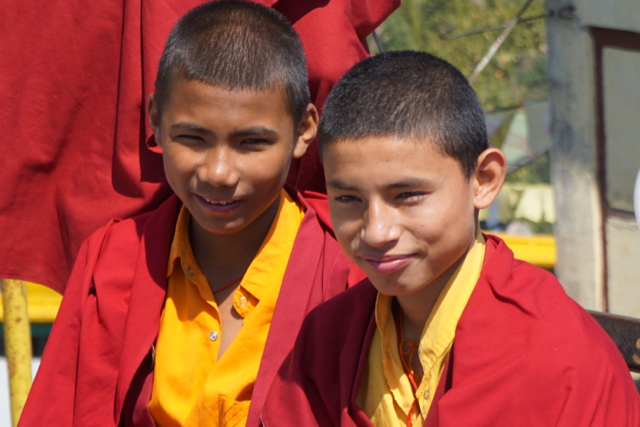 Sixteen-year-old monks