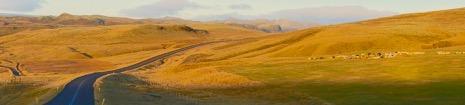 Road through Iceland